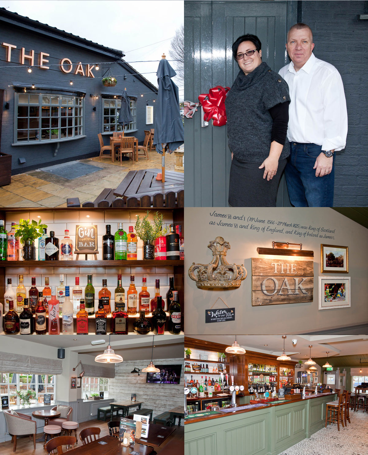 The Oak, a great looking local pub