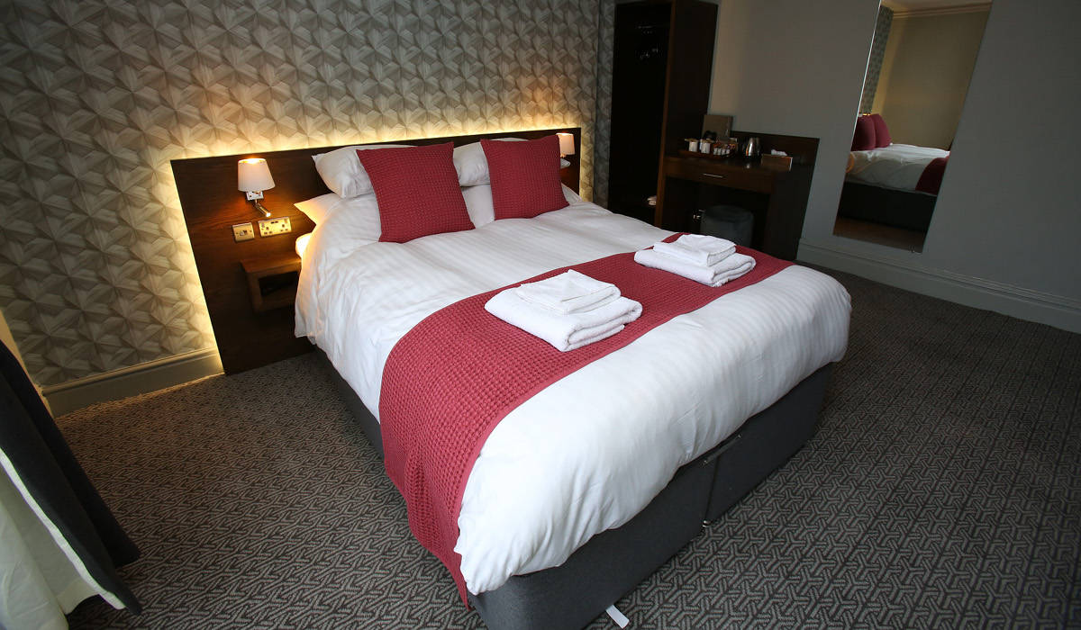 Queens Head Rothbury double room