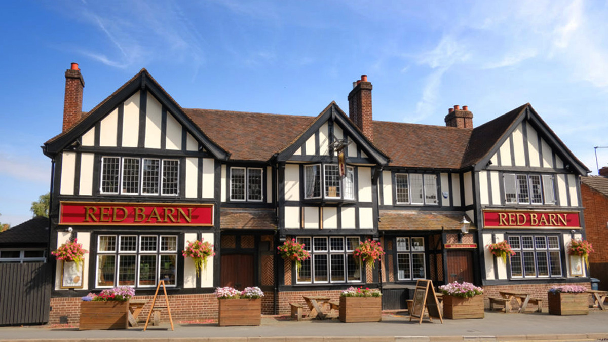 Red Barn, a great local pub in Shrewsbury