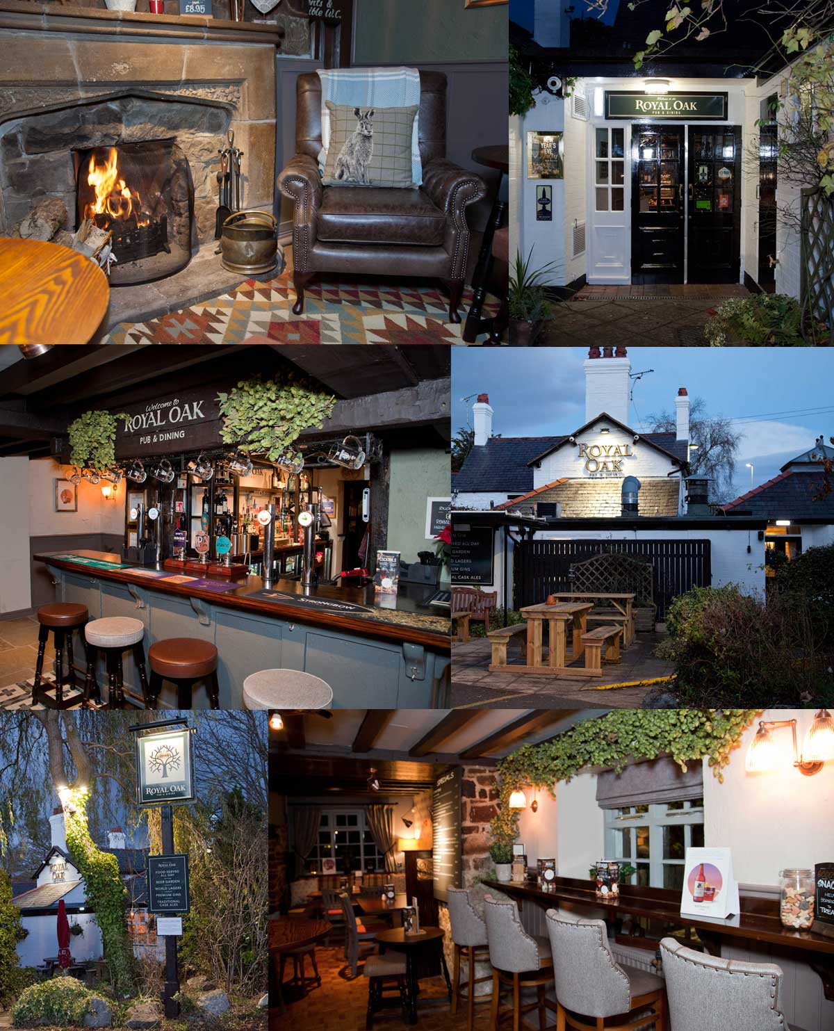 Cosy atmosphere at The Royal Oak