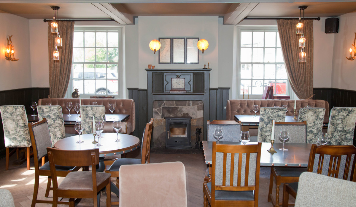 devonshire arms hartington internal seating
